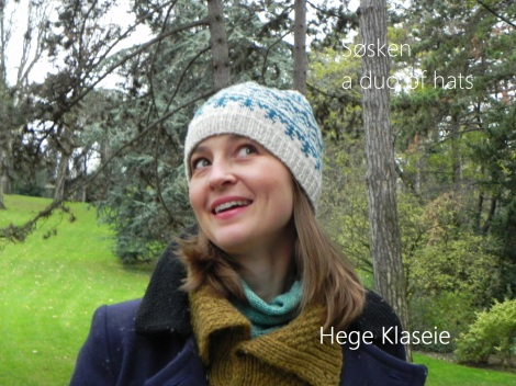 Søsken - a duo of hats by Hege Klaseie